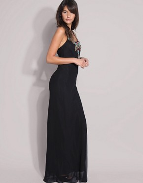 Image 4 ofASOS Beaded Maxi Dress