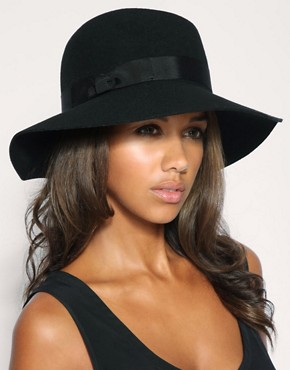 Image 1 ofASOS Wide Brim Fedora