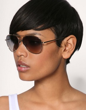 Image 3 ofASOS 2 Tone Lens Aviator Sunglasses