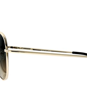 Image 4 ofASOS 2 Tone Lens Aviator Sunglasses