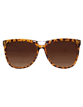 Image 2 ofASOS Bridge Detail Cats Eye Sunglasses