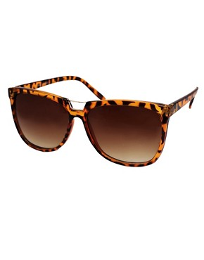 Image 1 ofASOS Bridge Detail Cats Eye Sunglasses