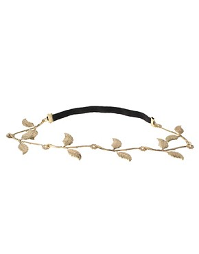 Image 2 ofLipsy Floral Garland Style Hair Band