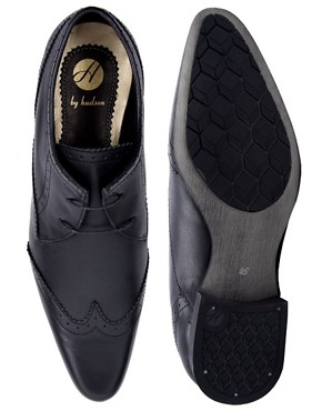 Image 3 ofH By Hudson Ellington Brogue Shoes