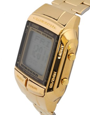 Image 3 ofCasio DB-360GN-9AEF Digital Bracelet Gold Watch