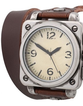 Image 4 ofASOS Wrap-Around Leather Watch