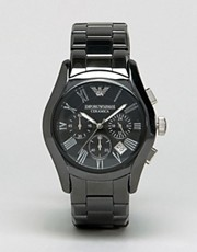 Emporio Armani AR1400 Chronograph Black Ceramic Watch