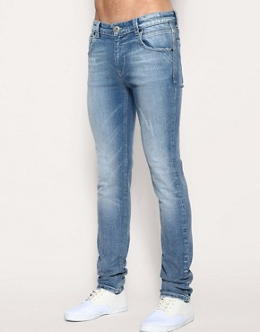 Image 1 of ASOS Authentic Skinny Fit Jeans