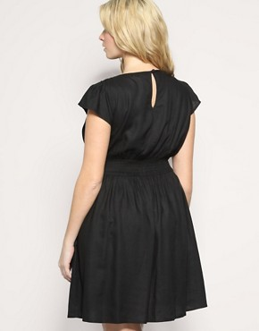 Image 2 ofASOS CURVE Fitted Waist Dress