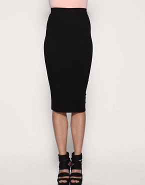 Image 4 of ASOS Pencil Skirt in Jersey