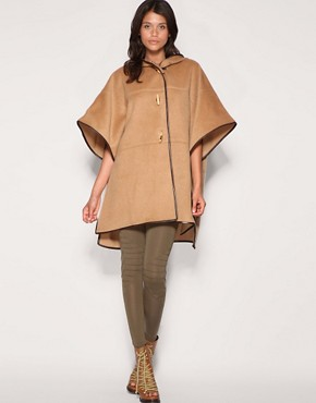 Image 4 of ASOS Contrast Trim Cape