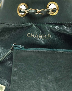 Image 2 ofVintage Chanel Leather Duffle Bag