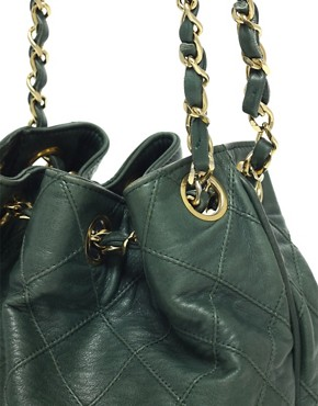 Image 4 ofVintage Chanel Leather Duffle Bag