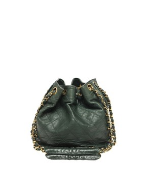 Image 1 ofVintage Chanel Leather Duffle Bag