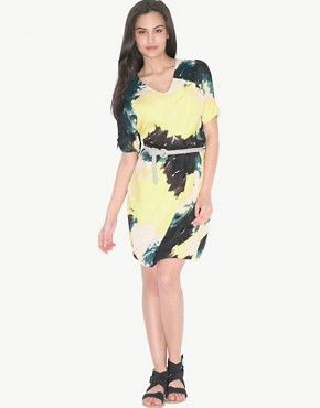 Image 4 ofSelected Femme Graphic Print Dress