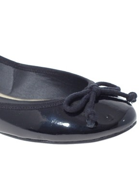 Image 2 ofASOS LUCY Patent Ballet Flats