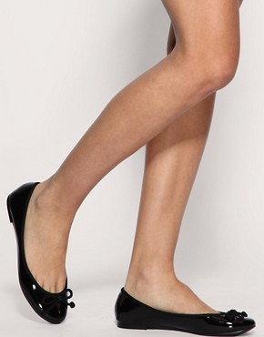 Image 3 ofASOS LUCY Patent Ballet Flats