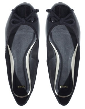 Image 4 ofASOS LUCY Patent Ballet Flats
