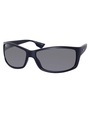Image 1 ofEmporio Armani Classic Slim Wrap Sunglasses