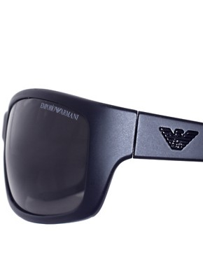 Image 4 ofEmporio Armani Classic Slim Wrap Sunglasses