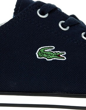 Image 2 of Lacoste L27 Cotton Pique Plimsolls