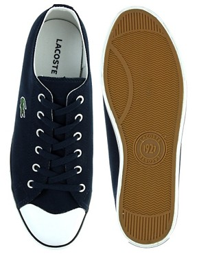 Image 3 of Lacoste L27 Cotton Pique Plimsolls