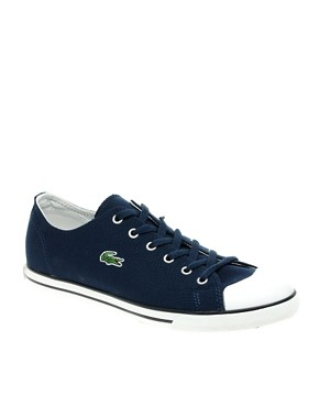 Image 1 of Lacoste L27 Cotton Pique Plimsolls