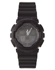 Casio G-Shock GA-100-1A1ER Chronograph Black Watch