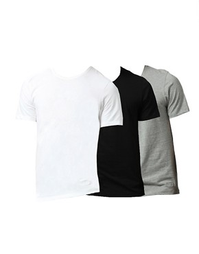 Image 1 of Boss Black Three Pack T-Shirt