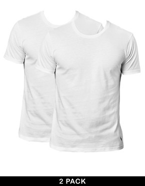 Image 1 of Polo Ralph Lauren 2 Pack Crew Neck T-Shirt