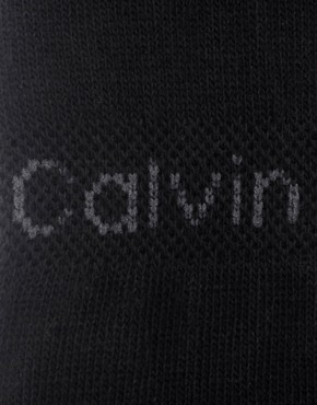 Image 2 ofCalvin Klein 2 Pack No Show Trainer Liners Socks