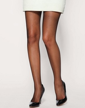 Image 1 ofASOS Fishnet Tights