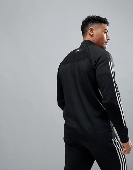 black Athletics bomber Adidas Adidas in cg2130 knitted 4wx7pq