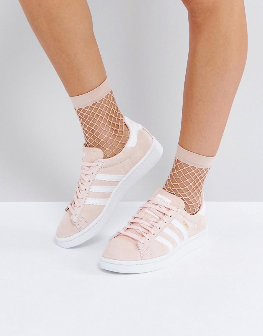 adidas Originals Pink Campus Trainers