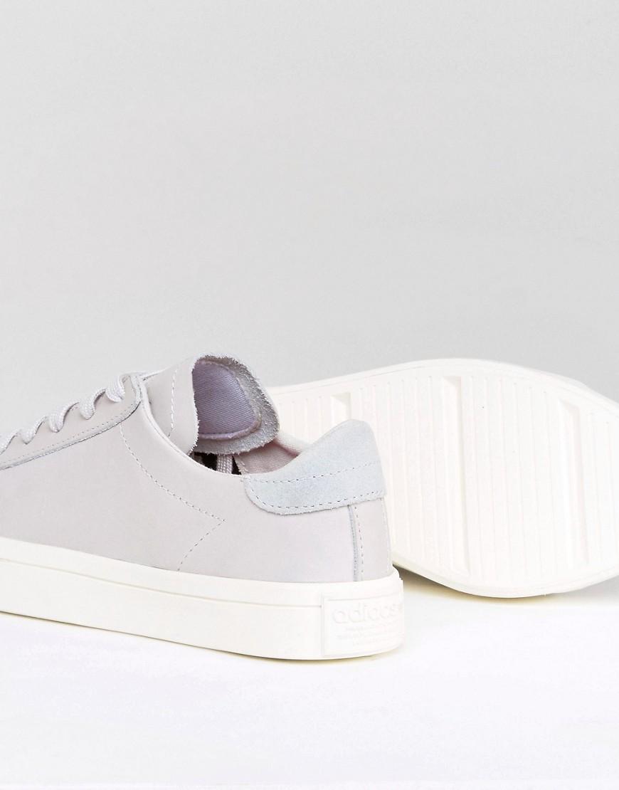 adidas Originals - Court Vantage - Baskets - Gris pâle
