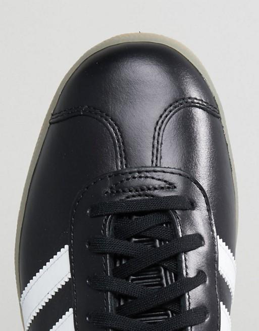 adidas Originals - Gazelle - Baskets en cuir - Noir BZ0026