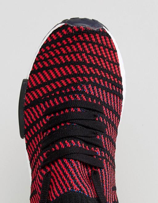 adidas Originals - NMD R1 STLT Primeknit - Baskets - Noir CQ2385
