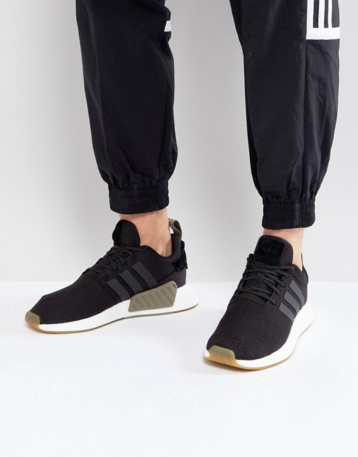 adidas Originals - adidas Originals - NMD R2 - Baskets - Noir BY9917