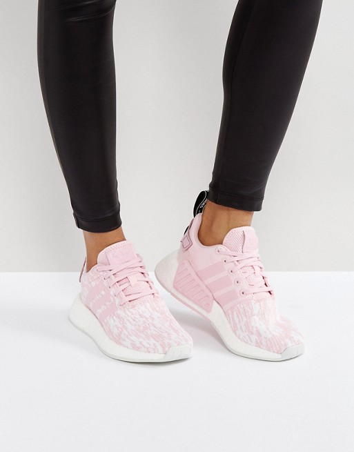 adidas Originals - NMD R2 - Baskets - Rose pâle