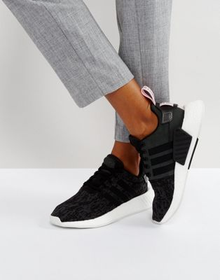 Image 1 of adidas Originals NMD R2 Sneakers In Black