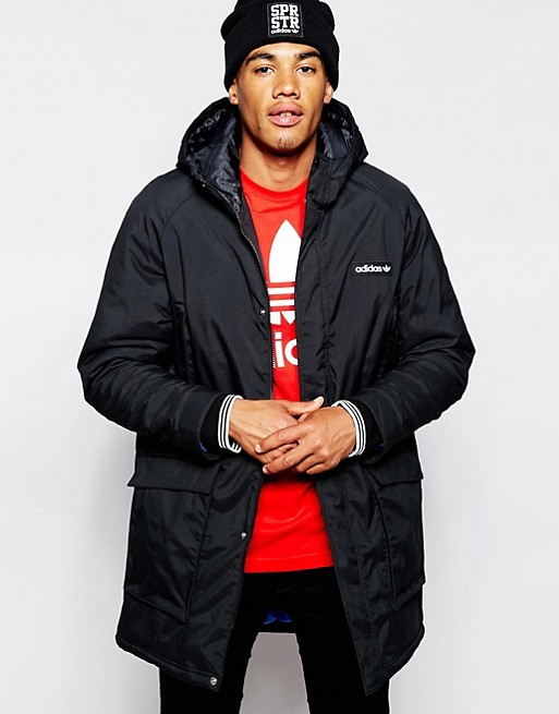 Home; adidas Originals Padded Parka AB7859. image.AlternateText