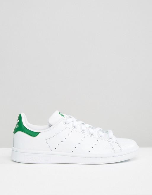 Adidas Originals - Stan Smith - Baskets - Blanc et vert