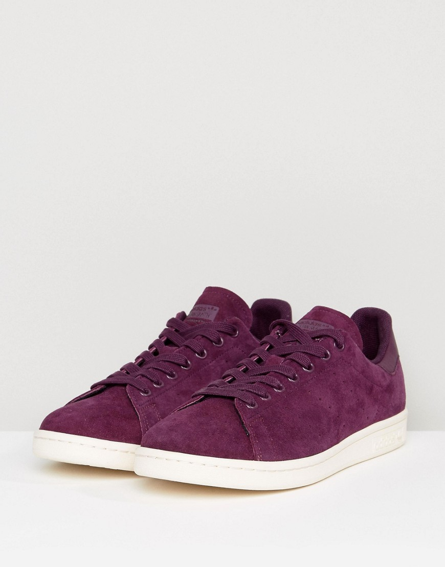 adidas Originals - Stan Smith - Baskets - Violet BZ0484