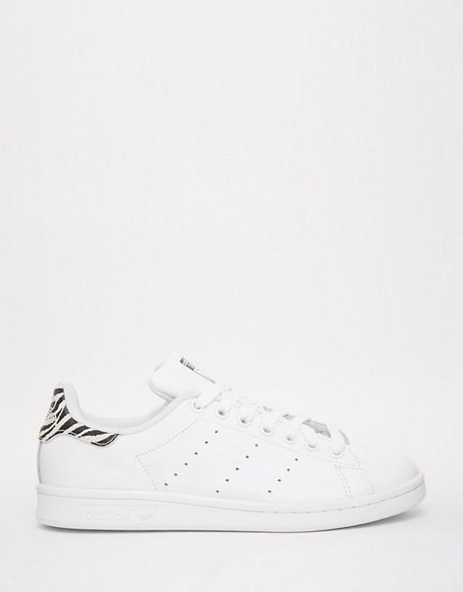 adidas stan smith zebra bianco nero