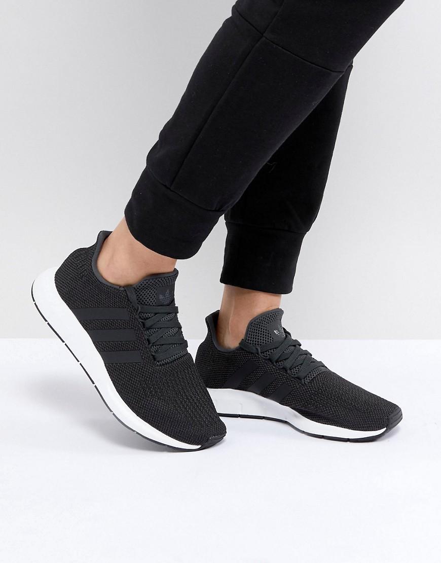 Swift - Schwarze Laufschuhe - Schwarz adidas Originals