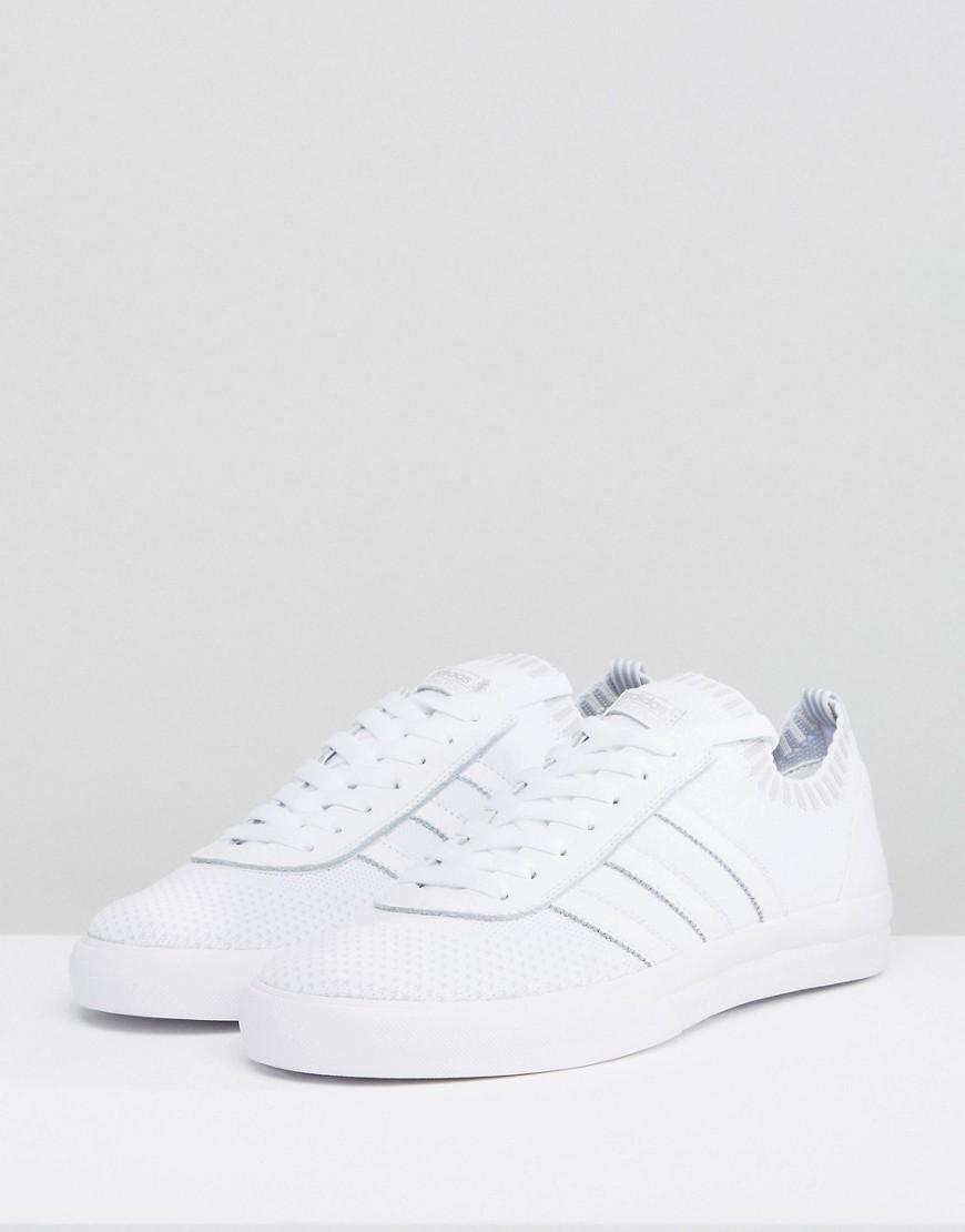 adidas Skateboarding Lucas Premiere Trainers In White CQ1229 - White adidas
