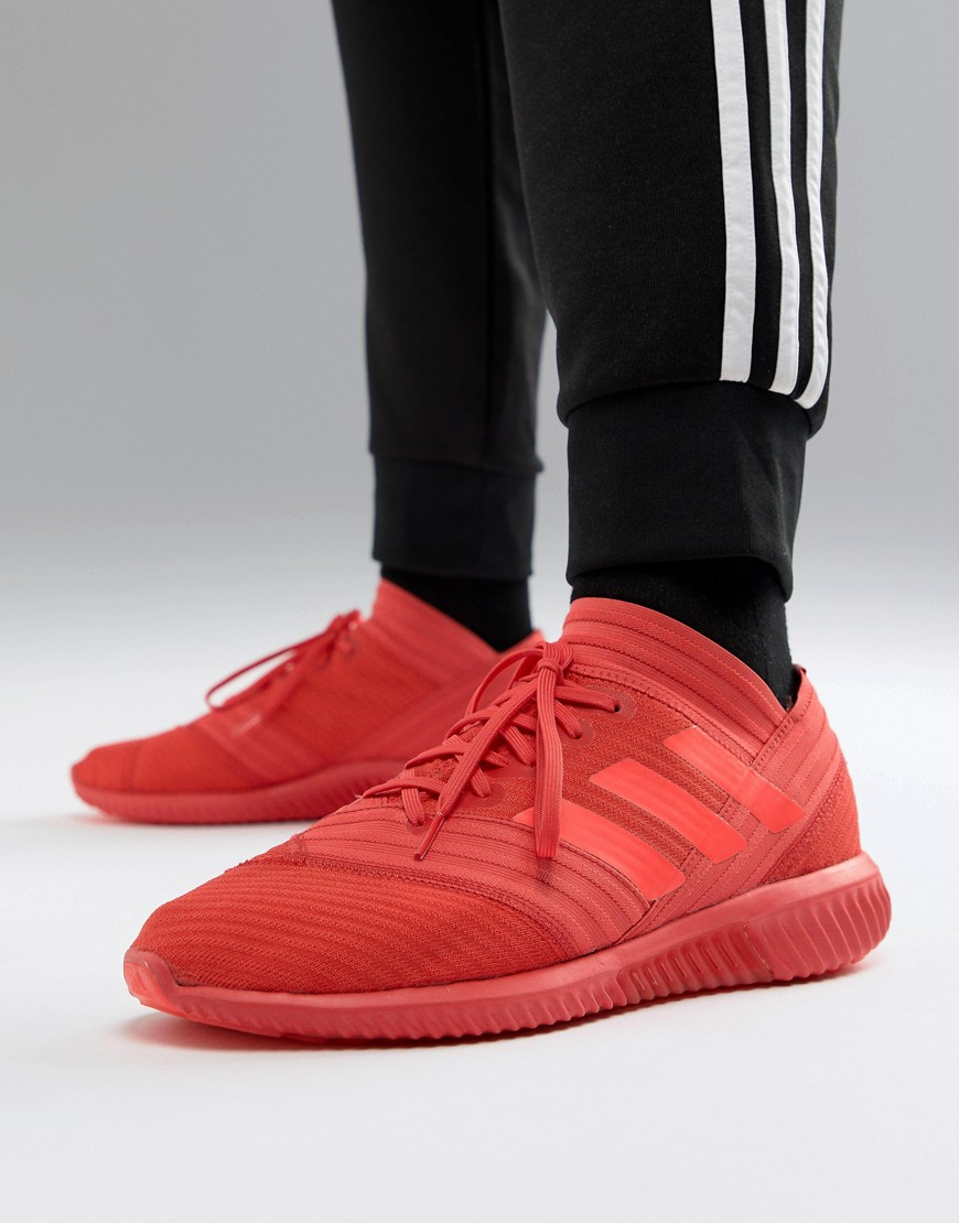 Adidas Soccer Nemeziz Tango Sneakers 17.1 In Red Cp9116 by Adidas