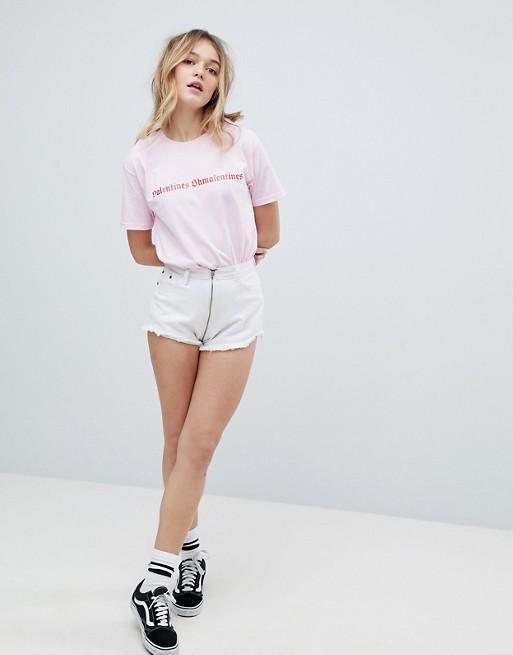 Adolescent Clothing - Valentines Shmalentines -T-shirt de la Saint-Valentin imprimé