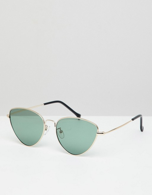 Morgan green in sunglasses Morgan metal AJ gold eye cat AJ qa1Fdzxwq