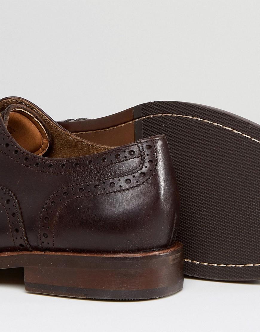 Aldo Bartolello Leather Brogue Shoes In Brown by Aldo